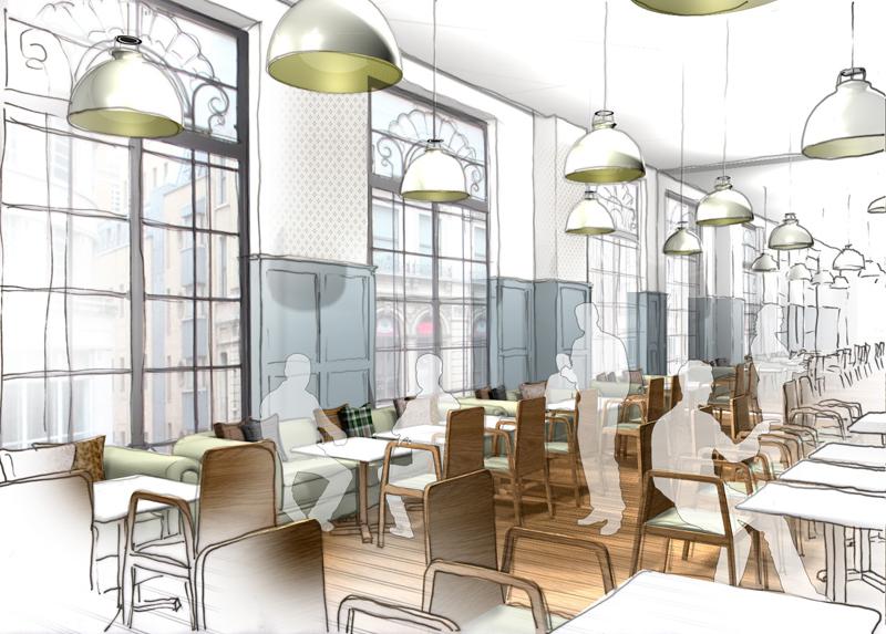 Restaurant cafe interior designers in london uk - Interior arrangement and design association ...